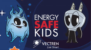 Vectren Energy Sake kids logo